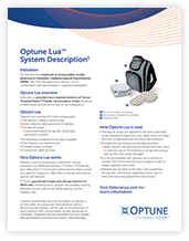 Optune Lua Resources Official Healthcare Professional Site